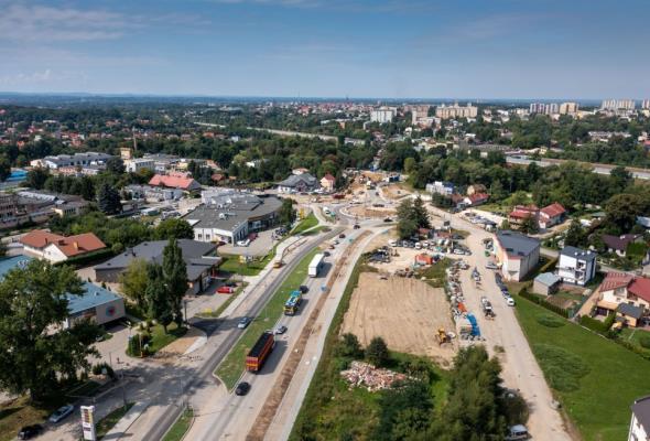Tarnów. Pierwszy etap przebudowy ul. Lwowskiej na finiszu