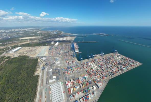 Port Gdańsk gotowy na korytarz transportowy Bałtyk – Morze Czarne