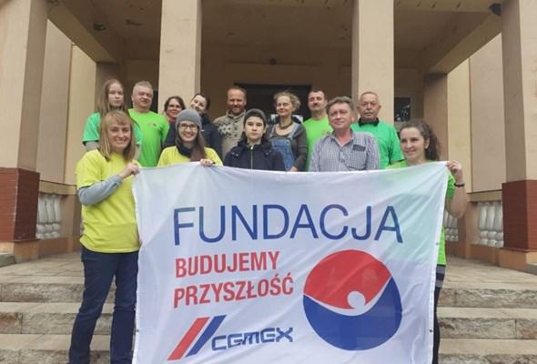 Wolontariat Cemex dla domu dziecka
