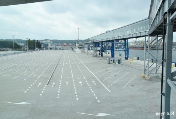 Publiczny terminal promowy w Porcie Gdynia gotowy