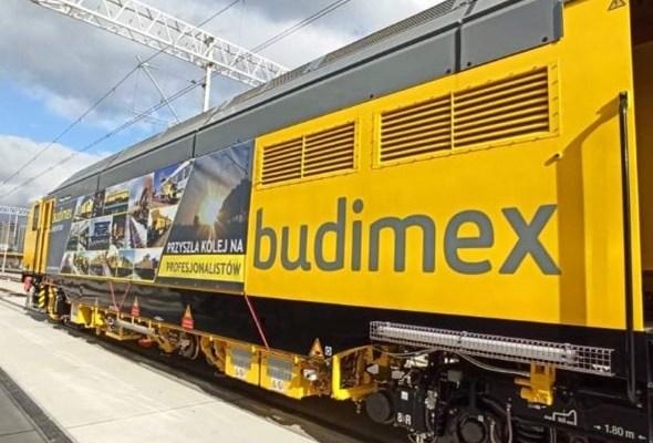 Budimex odebrał podbijarkę torową Unimat