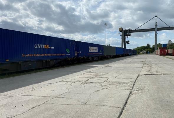 PKP Cargo uruchomiło stałe połączenie kontenerowe do Turcji