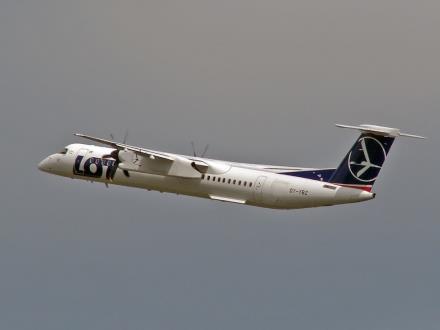 Bombardier Q400 PLL LOT połączy znów Gdańsk i Lublin