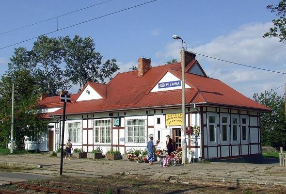 Dworzec w Pilawie będzie wyremontowany