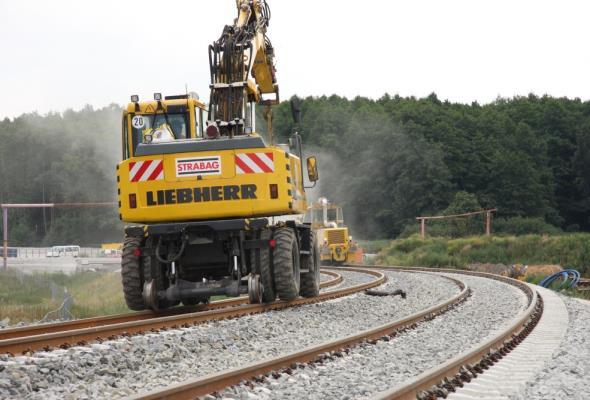 Strabag zacznie stawiać na projekty kolejowe