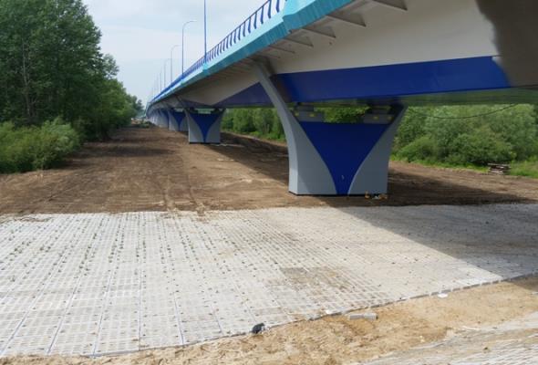 Chomiki wstrzymają otwarcie mostu przez Wisłę w Kamieniu?