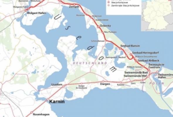 Tunel pod Świną – część nowego połączenia kolejowego/drogowego z wyspą Uznam?