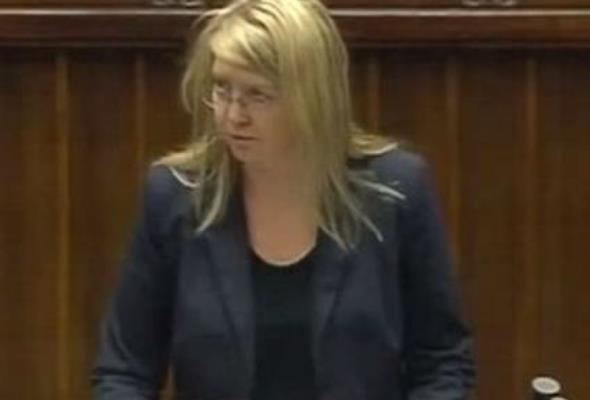 Beata Jaczewska w Biurze Rady Zarządzającej UNEP