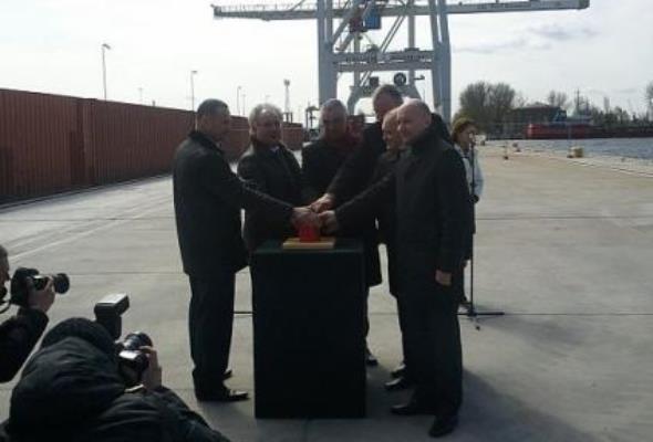 Szczecin: Nowy terminal kontenerowy oficjalnie otwarty