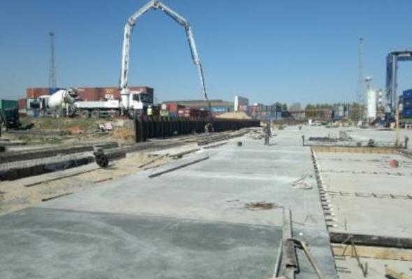 GCT Gdynia: Trwa III etap budowy