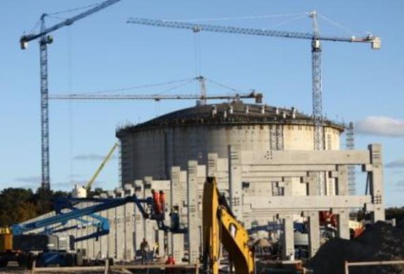 Terminal LNG: Betonowanie kopuły rozpoczęte