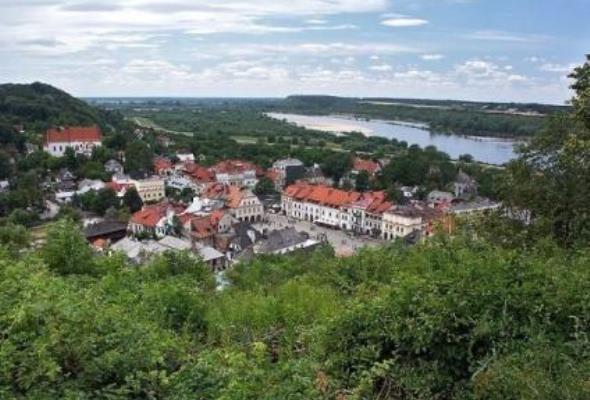 Z Kazimierza Dolnego już niedługo pożeglujemy do Puław i Janowca