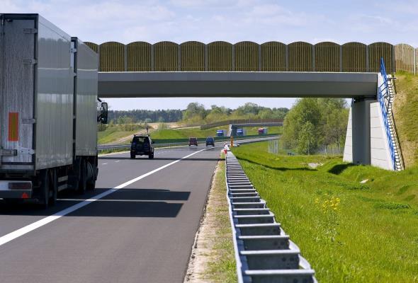 Trzeci pas na autostradowej obwodnicy Poznania za 1,5 roku