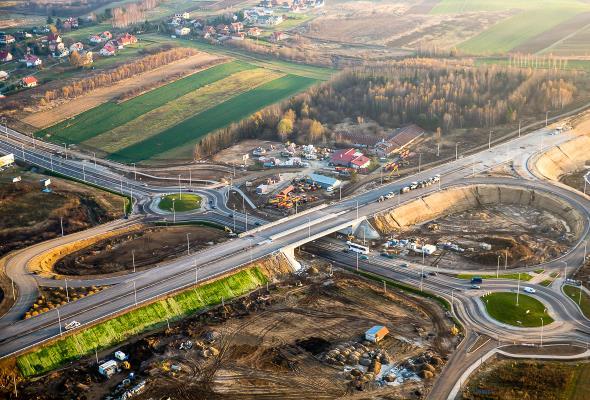 Poręba: Z czego zbudować drogę S19?