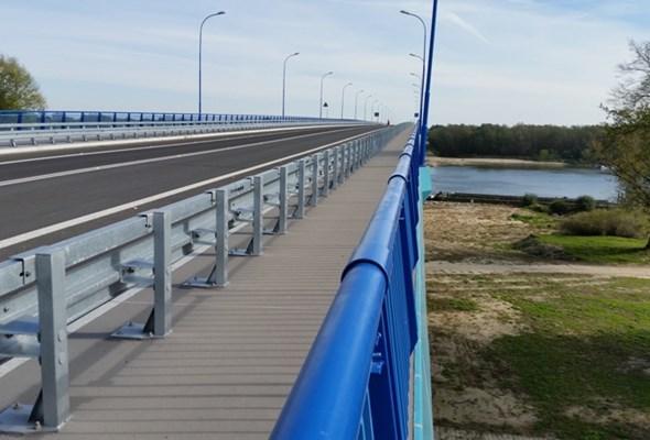 Nowy most połączył Lubelszczyznę z Mazowszem
