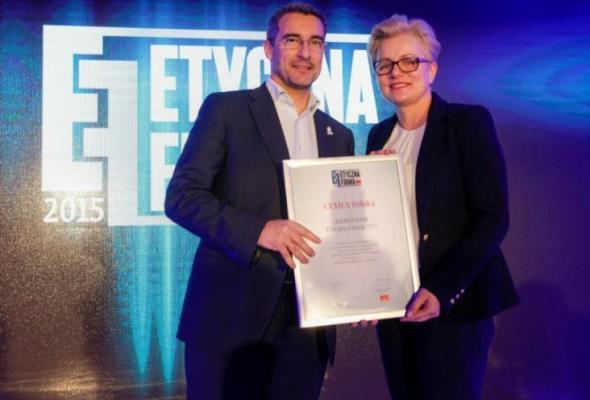 CEMEX Polska laureatem konkursu Etyczna Firma 2015