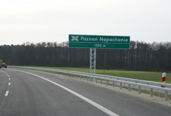 Dziś otwarcie odcinka Zachodniej Obwodnicy Poznania