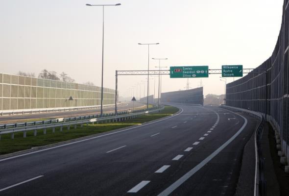 Śląskie: Od 4 sierpnia nowy przebieg dróg S1, S52 i S69