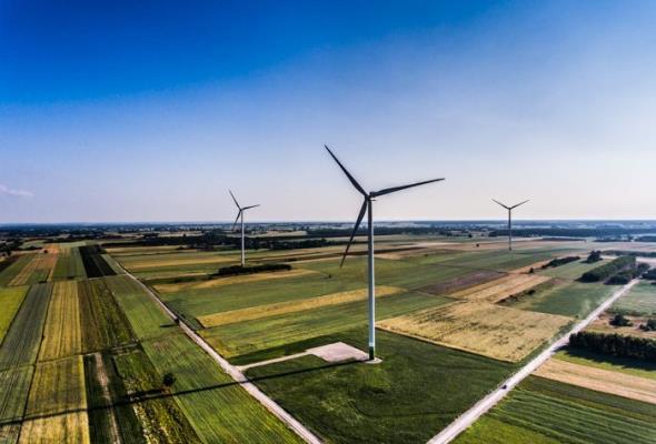 Kruszywa CEMEX na budowie farmy wiatrowej