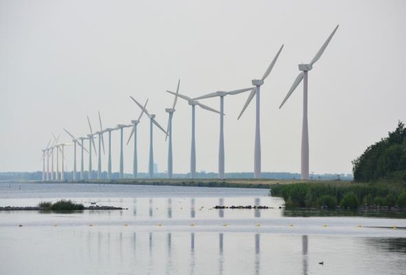 W Europie szybko rozwija się energetyka wiatrowa, zwłaszcza morska