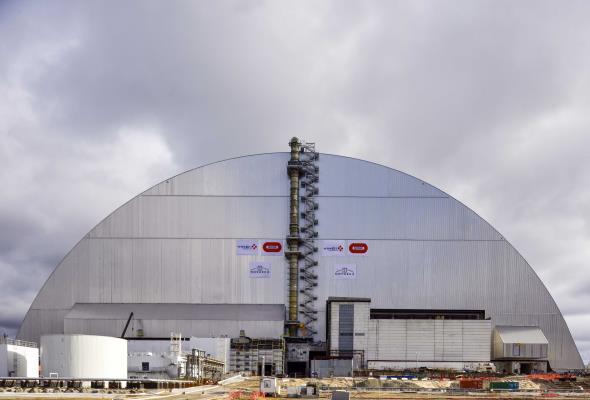 Czarnobyl: Reaktor nr 4 zabezpieczony na najbliższe 100 lat