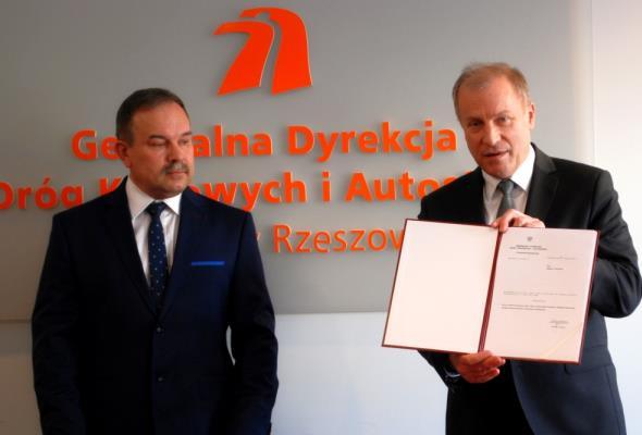 Bogdan Tarnawski na czele rzeszowskiej GDDKiA