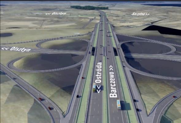 Olsztyn: Można zacząć budowę węzła Pieczewo