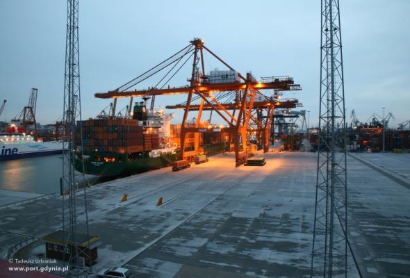 Port Gdynia ze wzrostem w pierwszym kwartale 2017 roku