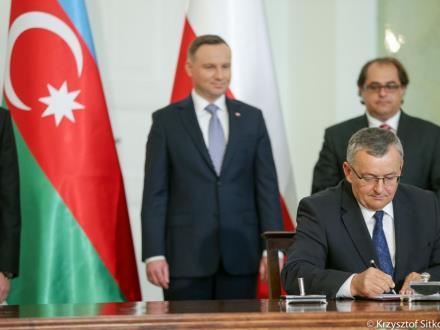 Będziemy rozwijać współpracę transportową z Azerbejdżanem