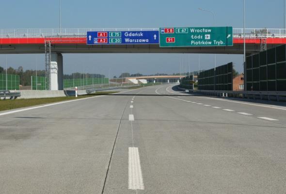 Łódzkie: Ruszył przetarg na ostatnie cztery odcinki autostrady A1
