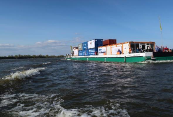 Wodny transport śródlądowy to niższe koszty