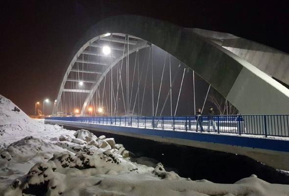 Małopolska: Estakada nad osuwiskiem gotowa