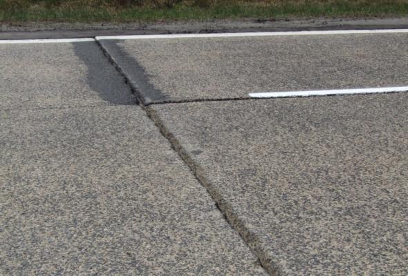 Adamczyk: Południowa jezdnia A18 zostanie przebudowana