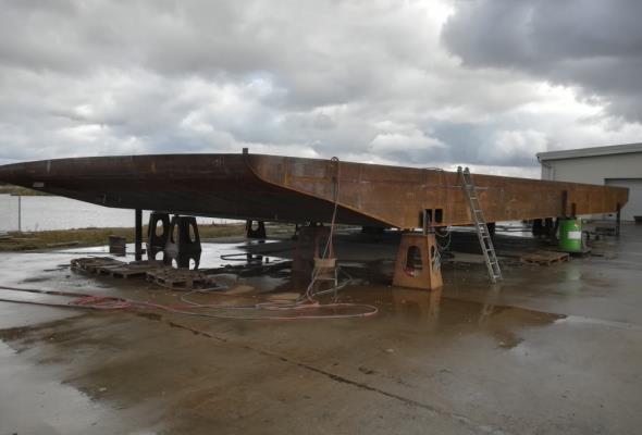 Kujawsko-pomorskie: Prom w budowie