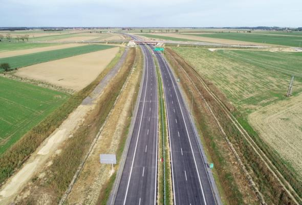S3 na Dolnym Śląsku coraz dłuższa. Oddano 36 kilometrów