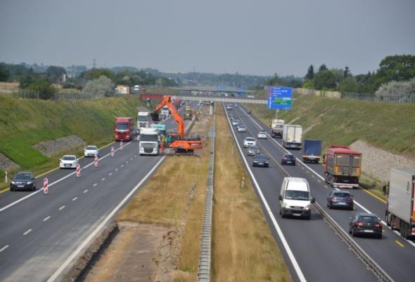 Kolejny etap rozbudowy A2. Zmiana organizacji ruchu na obwodnicy Poznania