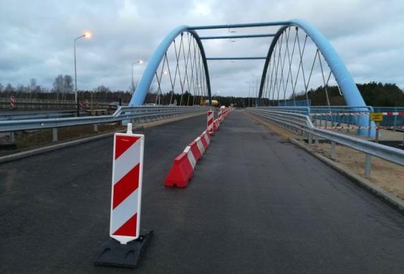 Bydgoszcz. Wiadukt w ciągu Armii Krajowej przejezdny
