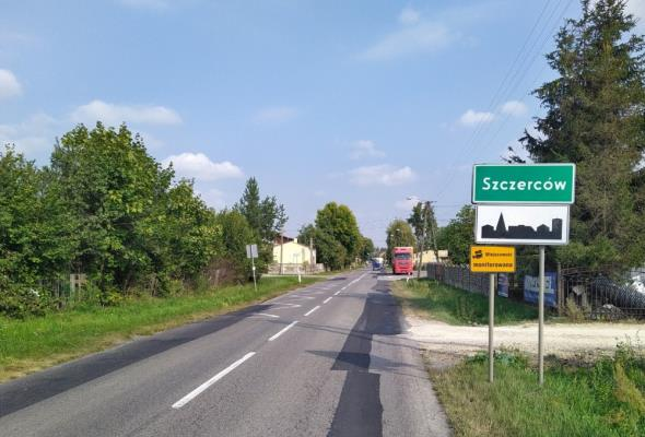 Łódzkie: DW-483 w Szczercowie do rozbudowy