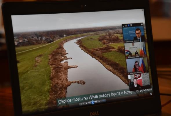 Małopolska. Jest dotacja dla mostu w gminach Nowe Brzesko i Drwinia