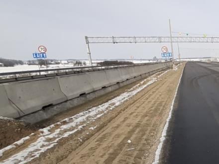 Odcinkowy pomiar prędkości na A1 rusza w tym tygodniu