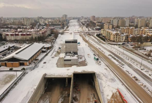 Specjaliści z Politechniki Warszawskiej zbadają powietrze przy tunelu POW?