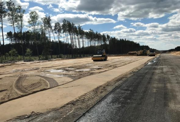 Strabag rozbuduje kolejny odcinek drogi Wielbark – Nidzica