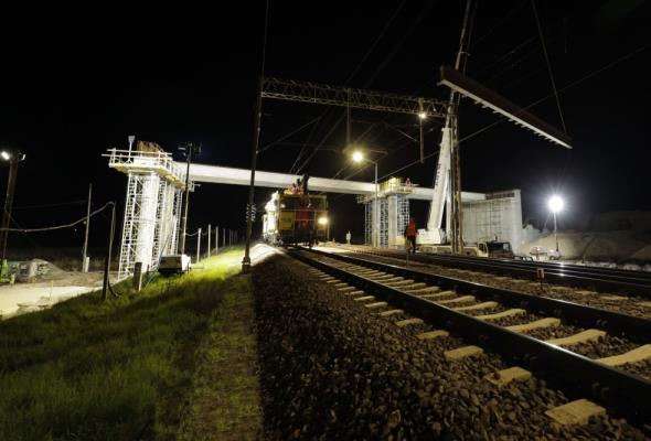 Więcej bezkolizyjnych skrzyżowań na Rail Baltice. Powstaje wiadukt w Małkini