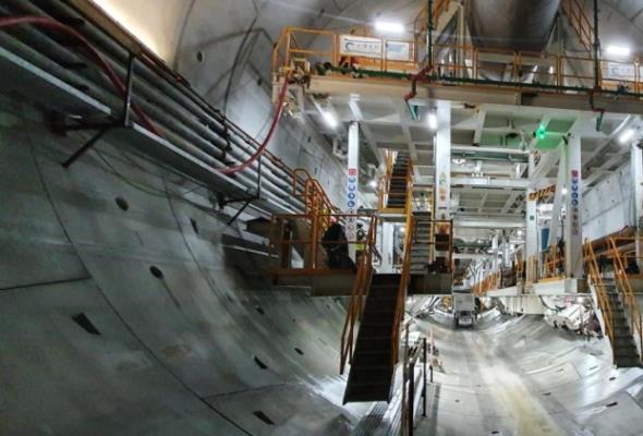 Tunel w Świnoujściu. Tarcza drążąca dotarła na drugi brzeg