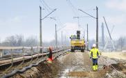 Rozpoczęła się budowa torów na krakowskiej łącznicy