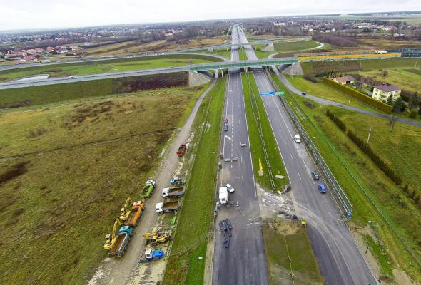 Budowa A4 Rzeszów – Jarosław idzie sprawnie