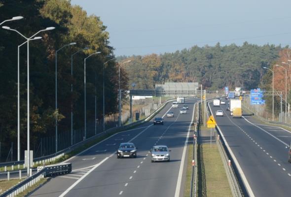 Zachodniopomorskie: Większy ruch na A3/A6, mniejszy na DK22