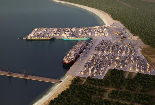 290 mln euro na budowę drugiego nabrzeża DCT Gdańsk