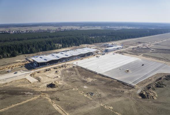 Szymany: Otwarcie lotniska w styczniu 2016 roku