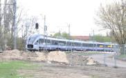 Pociągi kursują nad budowaną Trasą Świętokrzyską